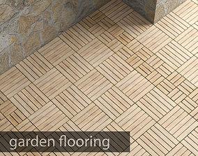 3D model Garden flooring