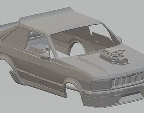 Ford Corcel II Mad Max Printable Body Car