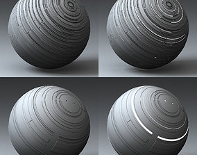 Syfy Displacement Shader F 001 p 3D model