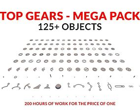 Top Gears Mega Pack 125 3D model