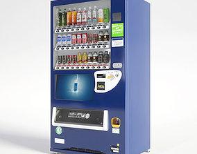 3D model Vending Machine 30 Button