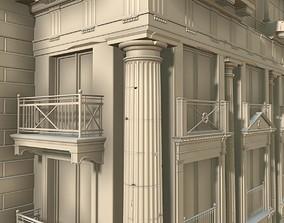 architecture classic details 3D