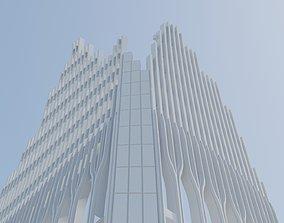 3D print model World trade center fragment