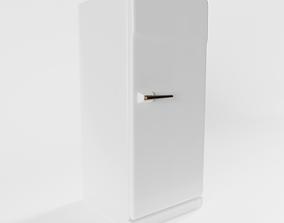 3D Vintage Refridgerator