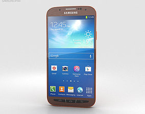 3D Samsung Galaxy S4 Active Orange Flare