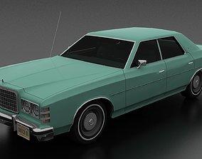 3D model LTD 4dr 1975