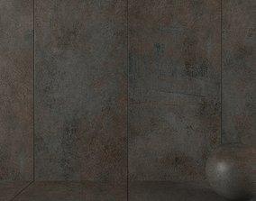 3D Stone Wall Tiles Etna Rust 120x270