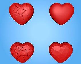 friend Broken Heart 3D model