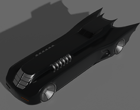 3D printable model Animated Batmobile