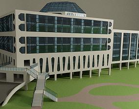 Science center building 3D
