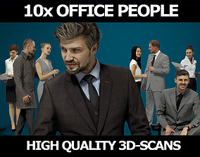 10x Scanned Gobotree Business Foreground People Volume 3D