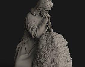 3D print model Jesus Praying