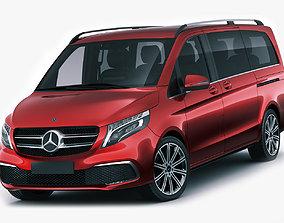 3D model Mercedes V-class 2020