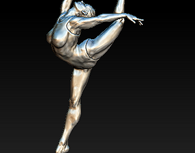3D print model Balerina Dance Girl Pose