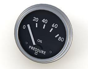 Oil pressure gauge 3D