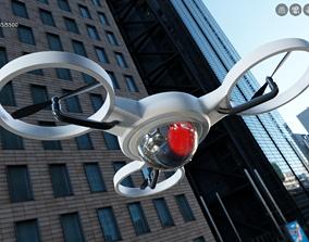 3D asset Spy Eye Robot