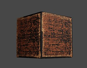 3D model Old Box Prop - High-poly