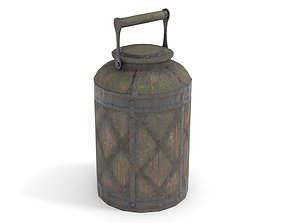 Old Bucket for Liquids 3D model
