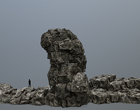 other 3D model low-poly rocks