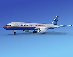 Boeing 757-200 United 2 3D