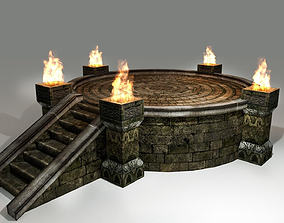 3D model Medieval Shrine