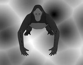 3D printable model Gorilla Animal