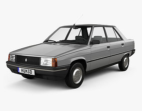 3D model Renault 9 1983