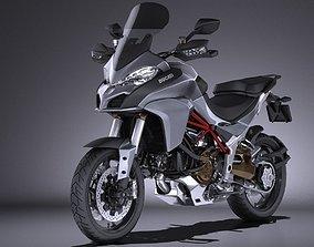 Ducatti Multistrada 1200 2015 VRAY 3D model