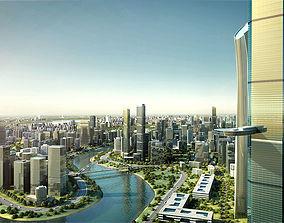 3D model City Big Cityscape 002