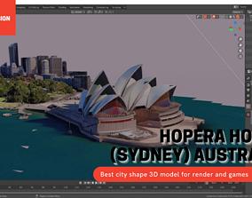 Opera house Sydney AUSTRALIA With texture 3D asset