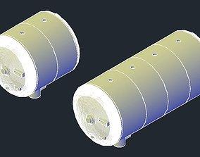 3D printable model Revell B-1B Lancer CSRL Fuel Tanks