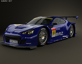 Subaru BRZ GT300 2013 3D