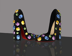 Beverly Heels shoes 3D