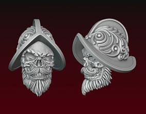 3D print model Dead Conquistador head