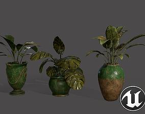 Lib Flowers 3D asset