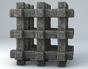 Sci-Fi Shapes - The Grid 3D model