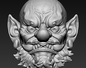 Oni YoKai Head 3D printable model