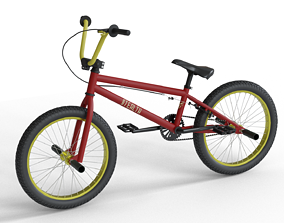BMX Bike sport 3D model