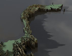 Highresolution heightmaps and geometry for 3D