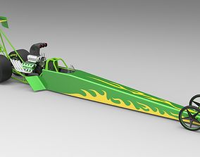 3D Top fuel dragster