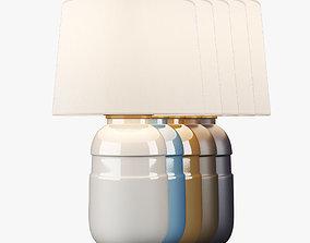 VisualComfort CS3622 Table Lamp - 5 ColorSet 3D