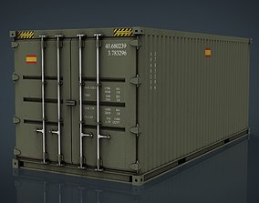 Spanish Military Container 3D model