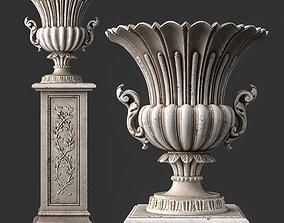Roberto Giovannini Vase Art 531 3D asset realtime