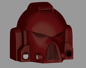 3D print model Warhammer 40k Space Marine Helmet Armor