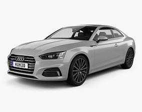 3D model Audi A5 Coupe 2016