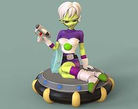 Cheelai with the blaster 3D printable model