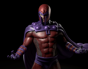 3D printable model Magneto Fan Art Statue for Print