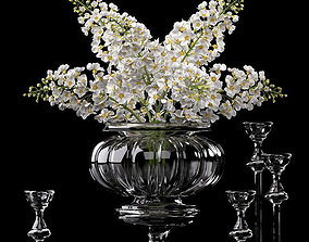 3D decorative Flower Vase Set