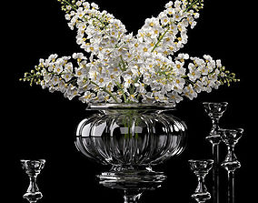 3D decorative Flower Vase Set