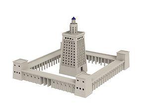 3D Lighthouse of Alexandria